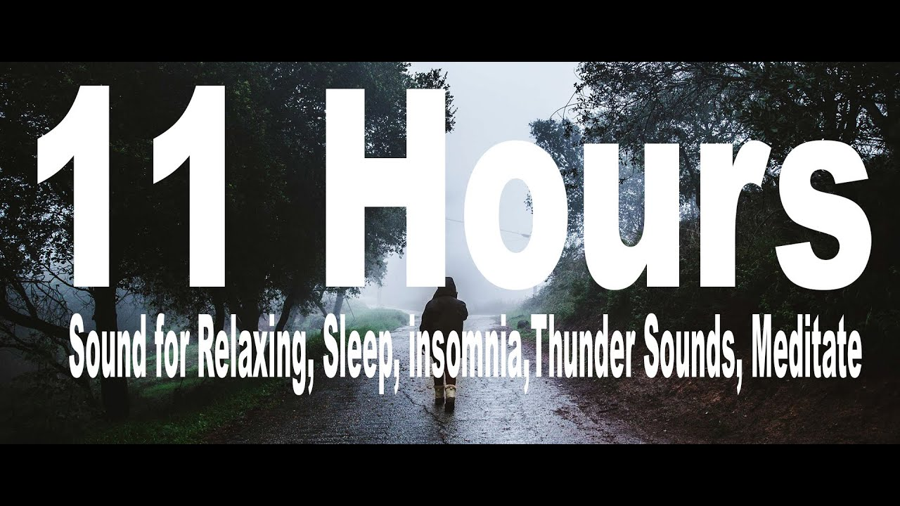 Heavy Rain 11 Hours  Of Sound for Relaxing, Sleep,for Kids and Grown ups