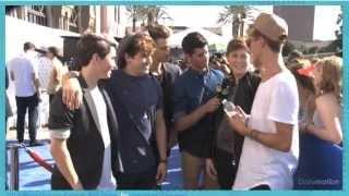 o2l saying their crushes at the teen choice awards
