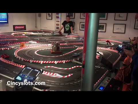 Carrera D124 2017 Turkey Day Race Cincyslots Slot Cars