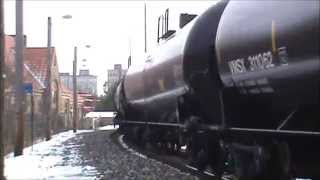 Part 1 of 2 Youngstown Ohio Train Whistle Blow November 2014 With CSX Westbound Ethanol