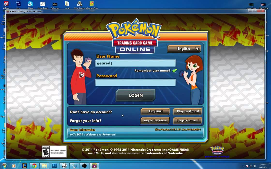 free no download pokemon trading card game