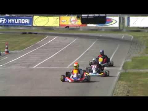 Karten Op Het Circuit Van Berghem Youtube
