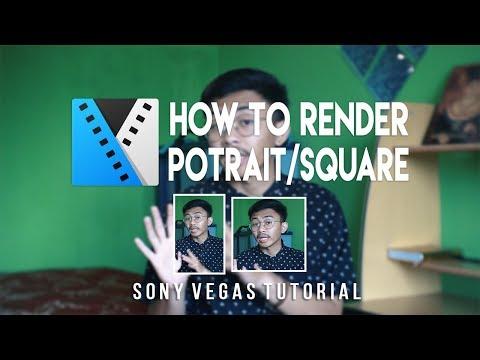 Setting render DVD PAL widescreen Sony Vegas Pro 13 | Tutorial.