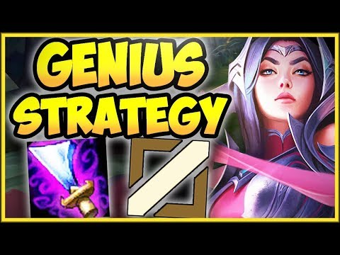 WTF WITS END IRELIA MID STRATEGY IS 100% BUSTED IRELIA MID SEASON 8 GAMEPLAY - League of Legends