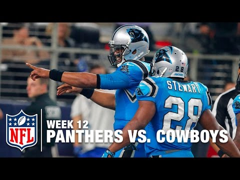 Cam Newton Leaps into the End Zone & Celebrates with a New Dance! | Panthers vs. Cowboys | NFL