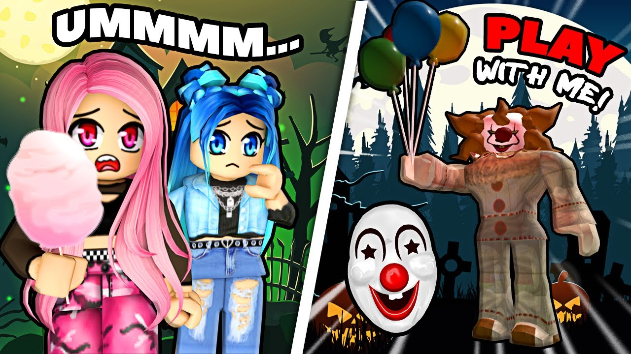 The Haunted Amusement Park in Roblox...