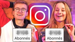 DUEL INSTAGRAM : Qui aura le plus de Followers en 24h ? (ft. Camille LV)