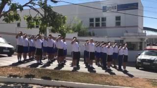 Homenagem em Nova Serrana ao cabo da Polícia Militar Marcos Marques da Silva