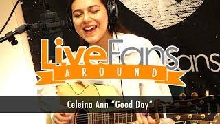 """Celeina Ann """"Good Day""""【スタジオ弾き語り@LiveFans ※フル映像あり】"""