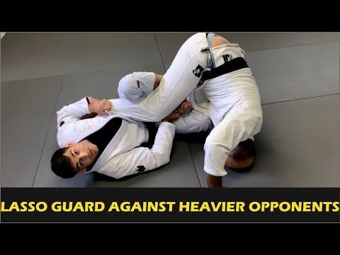 Jiu Jitsu Lasso Guard Against Heavier Opponents by Jonnatas Gracie