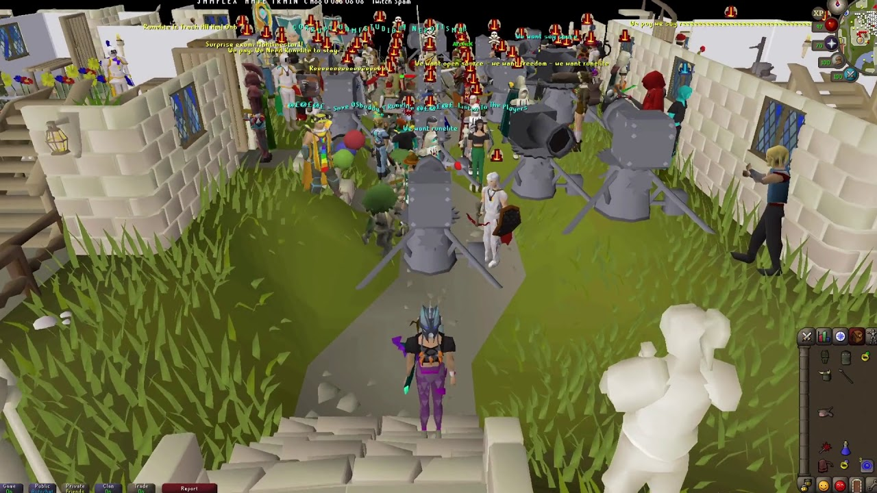 A RuneScape Riot