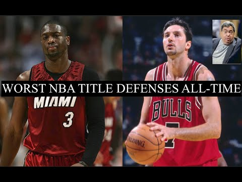 Ranking The 8 Worst Defending Champions In NBA History