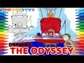 How to Draw Super Mario Odyssey, the Odyssey #96.5 | Drawing Coloring Pages for Kids