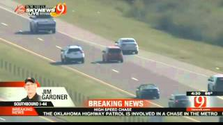 Oklahoma Police Chase 9-30-2015
