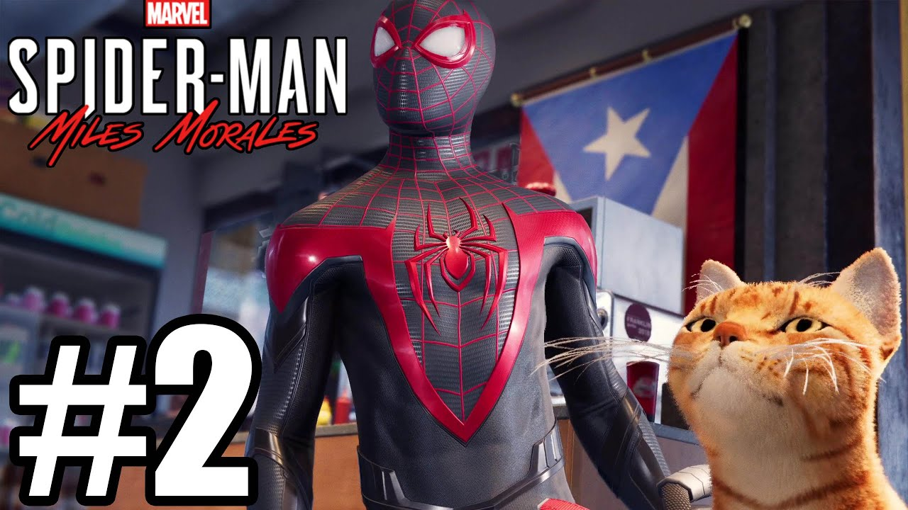 Spider-Man Miles Morales Gameplay Walkthrough Part 2