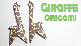 GIRAFFE ORIGAMI TUTORIAL | ANIMALS ORIGAMI