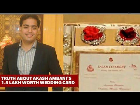 Search Wedding Card Of Ambani Son Ripiru