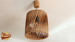 Making a Twisted Plywood Lamp