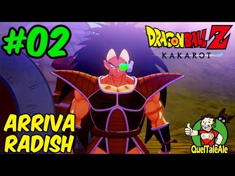 L'ARRIVO DI RADISH | Dragon Ball Z Kakarot - Gameplay ITA - Walkthrough #02