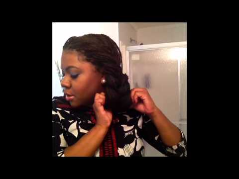 7 Simple Ways To Style Your Box Braids For The Workweek Youtube