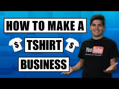 How To Create A T-Shirt Business Online IN 1 HOUR STEP BY STEP with Print On Demand!