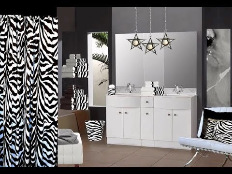 Attirant Zebra Bathroom Ideas