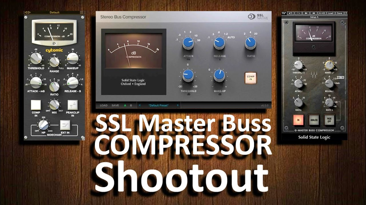 buss compressor plugin comparison ssl native vs waves vs cytomic youtube. Black Bedroom Furniture Sets. Home Design Ideas