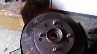 Замена барабанных тормозов на дисковые 2