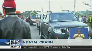 Six dead, 11 injured after 7-vehicle accident along Nakuru-Kericho highway