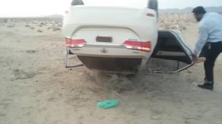 Bad Accident Toyota Corolla 2017 In Pakistan