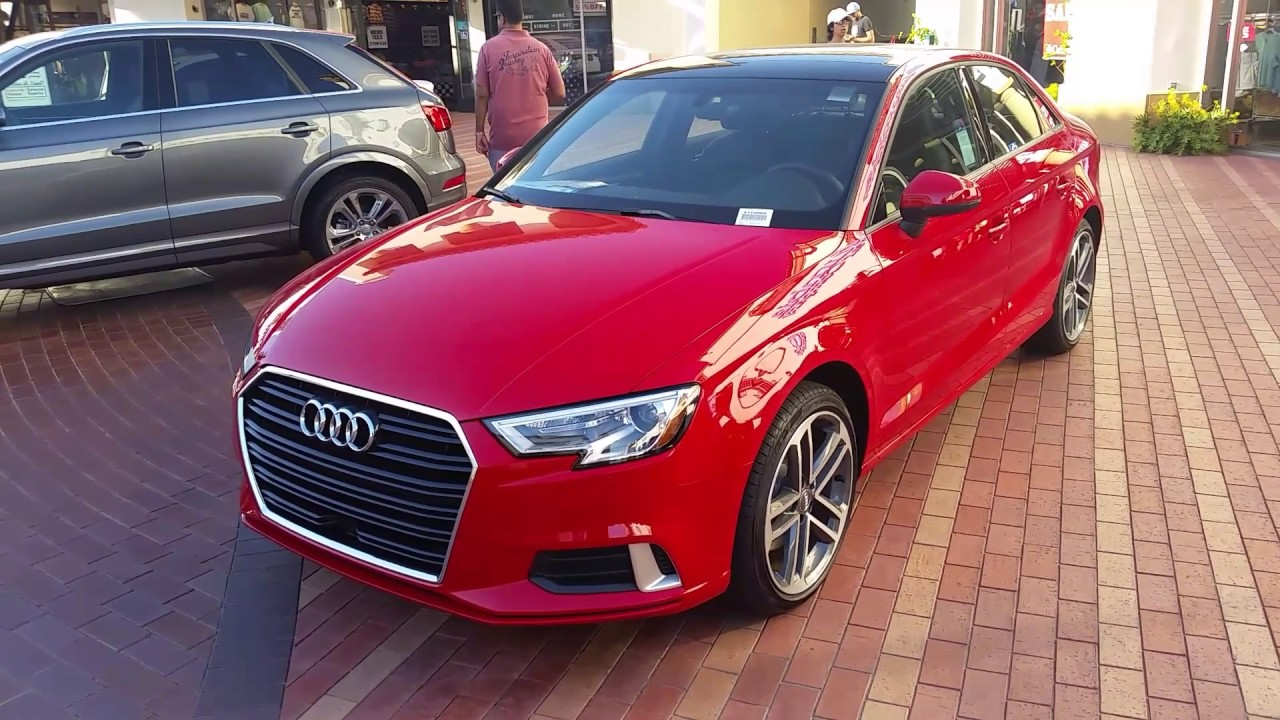Gorgeous Red New 2017 Audi A3 Sedan: Walk Around Video In