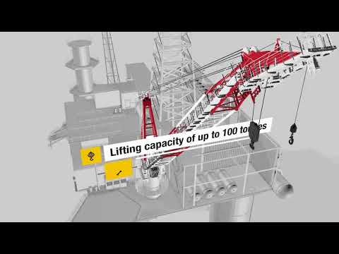 Liebherr - Relaunch of compact board offshore crane series (