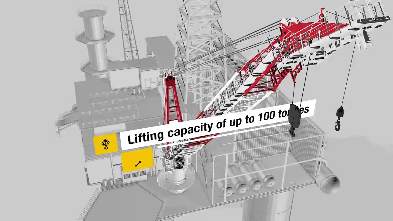 liebherr relaunch of compact board offshore crane series cbo  [ 1280 x 720 Pixel ]