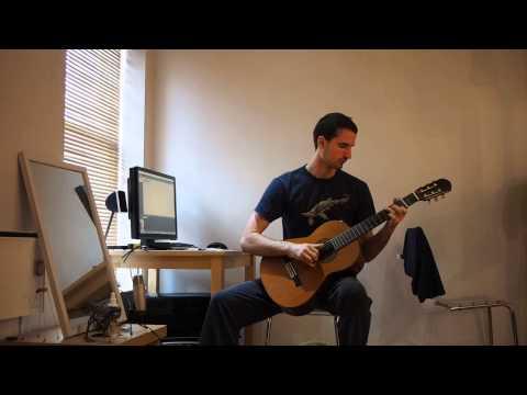 Chris Ford Guitar - Pachelbel