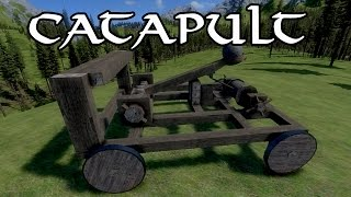 Medieval Engineers - Catapult Building!