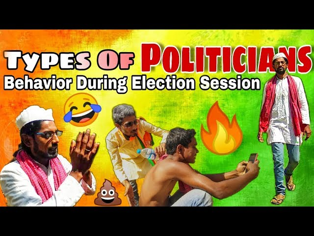 Types of Politicians | behavior During Election Session | must watch funny video 2019