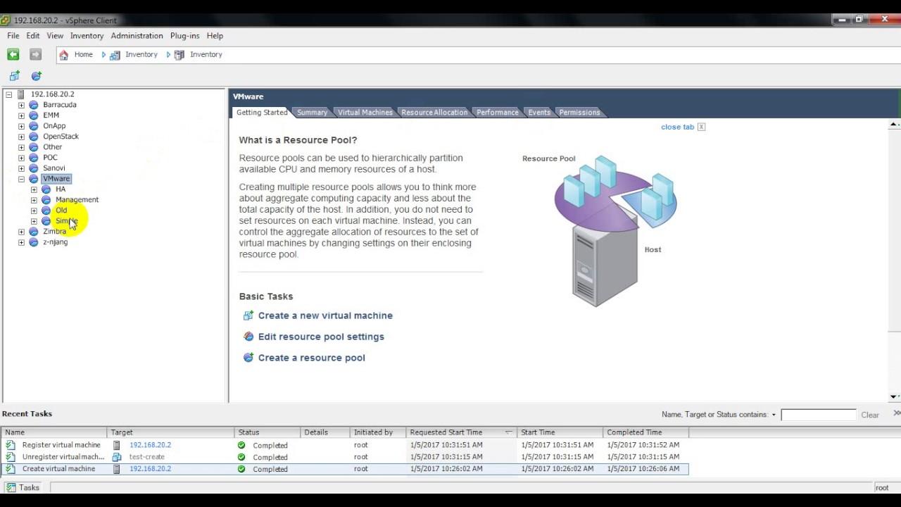 VMware ESXi - Delete Virtual Machine