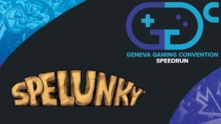 Speedrun @ GGC | Spelunky All Shortcuts - Race Twyn vs Brother_Main