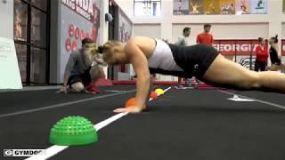 Georgia Gymnastics Practice