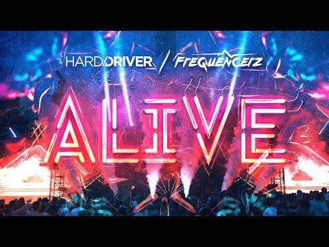 Смотреть клип Hard Driver & Frequencerz - Alive