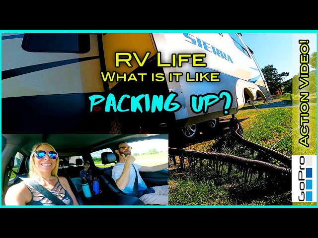 RV Life | What is it like packing up? | GoPro8 | POV