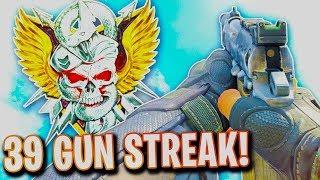 insane RK7 PISTOL Nuclear in COD BO4! 39 Gun Streak WITH A PISTOL in Black Ops 4! (PISTOL NUKE!)