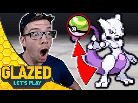 Catching Mewtwo In A NEST BALL! Pokemon Glazed #38