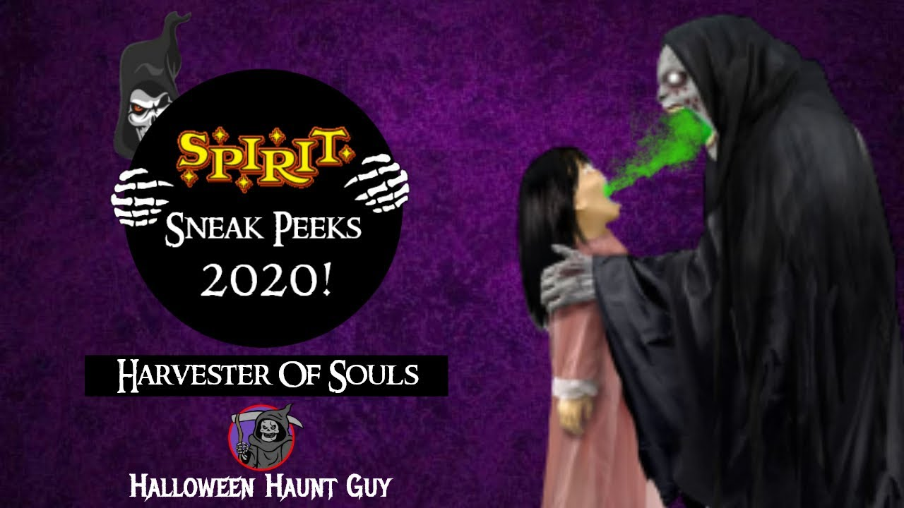 The Harvester of Souls | Spirit Halloween 2020 Sneak Peeks