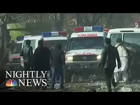 At Least 95 Dead After Explosion In Kabul | NBC Nightly News