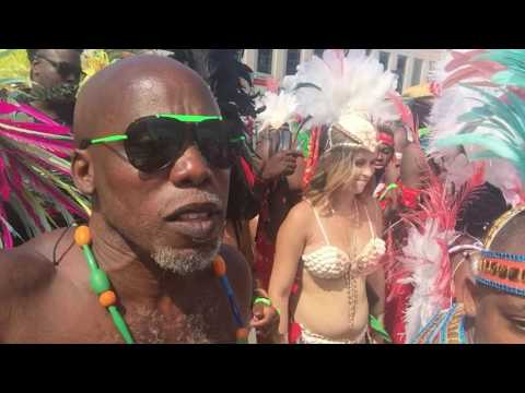 Carnival Nationz post stage epicness - Caribana - Toronto Caribbean Carnival 2016
