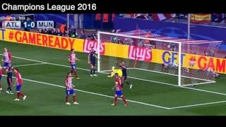 vuclip Gol de Saul Ñiguez vs Bayern Munich, Atlético de Madrid 1 - 0 Bayern Munich, Semifinales UCL 2016.