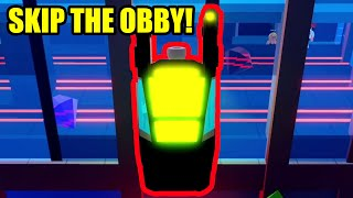 SKIP the JEWELRY and MUSEUM OBBY with THIS GLITCH | Roblox Jailbreak
