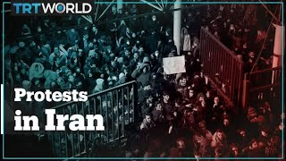 Thousands Of Iranians Protest In Tehran