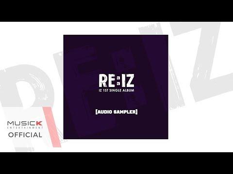 아이즈(IZ) 1ST SINGLE ALBUM 'RE:IZ' 에덴(EDEN) AUDIO SAMPLER